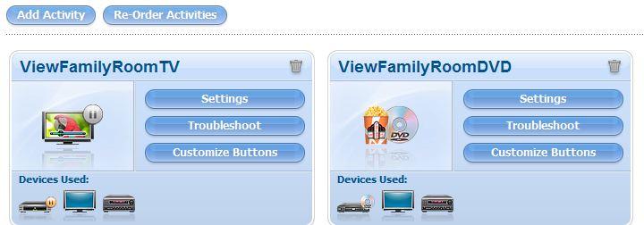 Logitech Harmony One Remote – Adding Custom Icons and